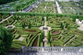 An overview of the most formal parts of Villandry