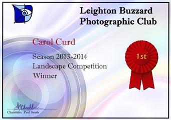 Carol-Certificate